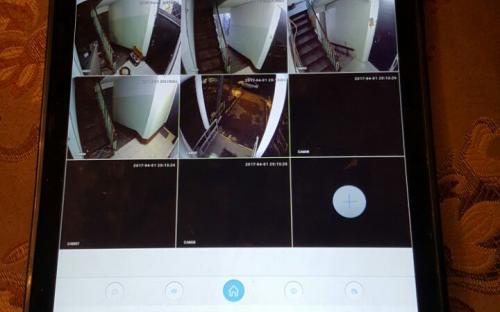 Видеонаблюдение с планшета, телефона